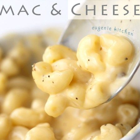 Easy Stove-top Mac And Cheese | Recipe | Cheese recipes ...