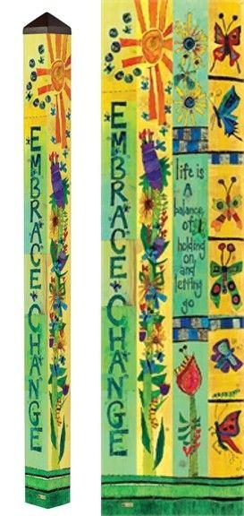 291 best peace poles images on Pinterest | Backyard ideas, Garden ...