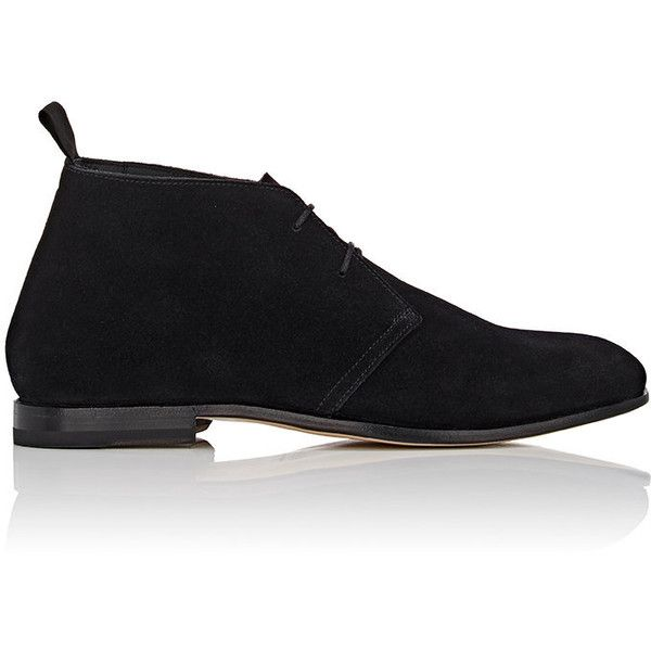 Helbers Men's Suede Chukka Boots ($745) ❤ liked on Polyvore featuring men's fashion, men's shoes, men's boots, mens suede lace up boots, mens suede shoes, mens suede boots, mens boots and mens leather soled boots