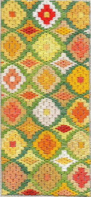 Bargello Needlepoint Daffodil Boxtop | Flickr - Photo Sharing!
