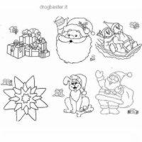 disegni Natale colorare