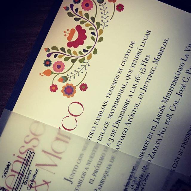 Que gran resultado  #invitacionesdeboda #wedding #boda #invitacion #mexicanwedding #colors #colores #flores #denymarco #cdmx #bodamexicana #savethedate #stdmx #love #secasan