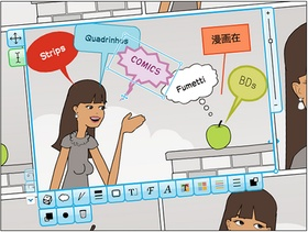 I use Flipsnack in class. It's easy for students to create ebooks.