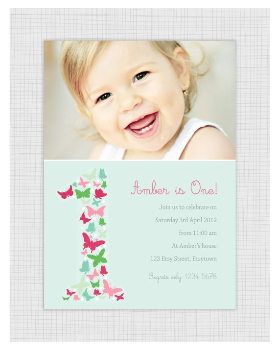 101 best Du0027s 1st Birthday images on Pinterest Woodland forest - invitation for 1st birthday party girl