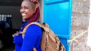 Meet the 'backpack midwife' bringing healthcare for all - BBC News