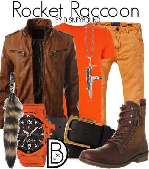 Disney Bound - Rocket Raccoon