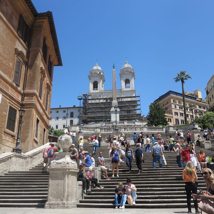 Piazza di Spagna, Trinita dei Monti