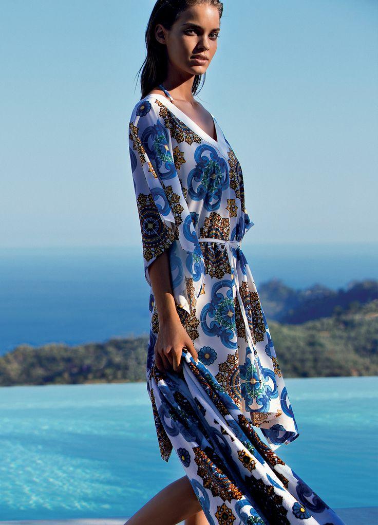 Liu Jo | Beachwear Spring Summer 2017 #LiuJo #Beachwear #Swimwear #Fashion #Style #Summer