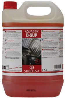 Aquagen D-Sup detergent pentru industria alimentara inlatura grasimile si murdaria dificila.