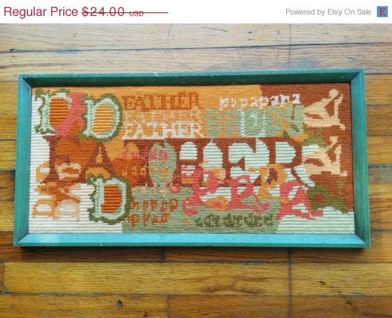 Father's Day Gift Idea SPRING CLEARANCE SALE Vintage 1970s Father's Day by CristalsAttic, $18.00