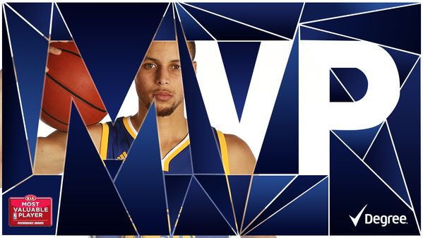 Stephen Curry named Kia NBA MVP.