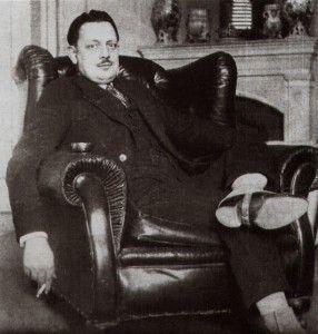 Giuseppe Tomasi di Lampedusa, 1935, Palazzo Lampedusa, Palermo.