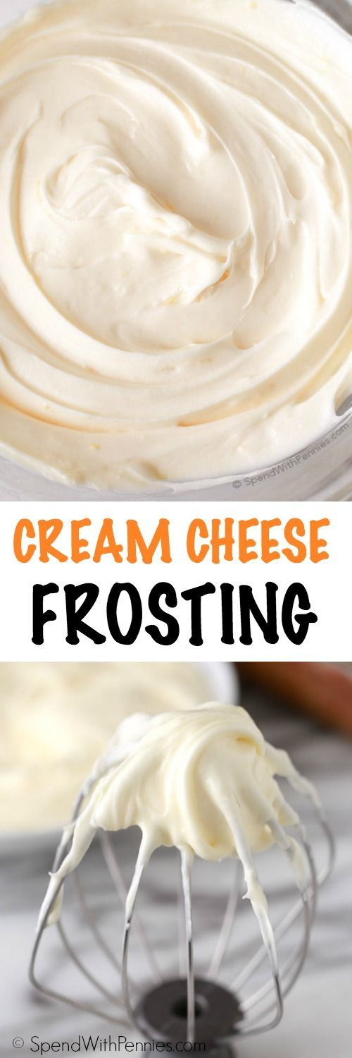 This is the best ever Cream Cheese Frosting. It's rich and creamy with just the right amount of sweetness and a hint of lemon. This is the perfect topper for banana cake, red velvet, carrot cake and so much more!