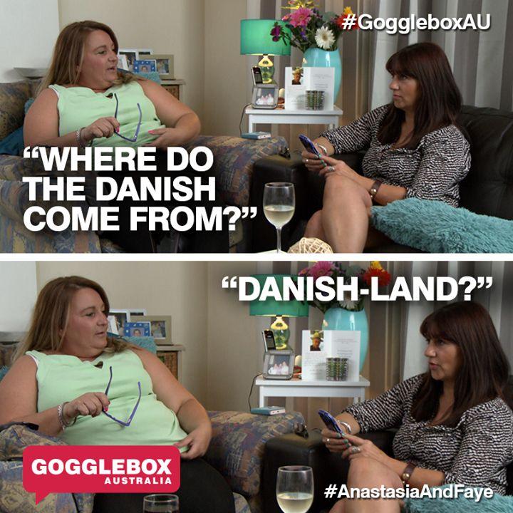Gogglebox Australia - Anastasia and Faye