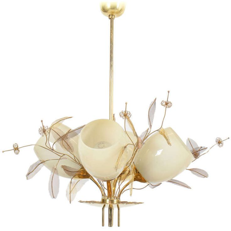 Paavo Tynell  4 Shade Chandelier