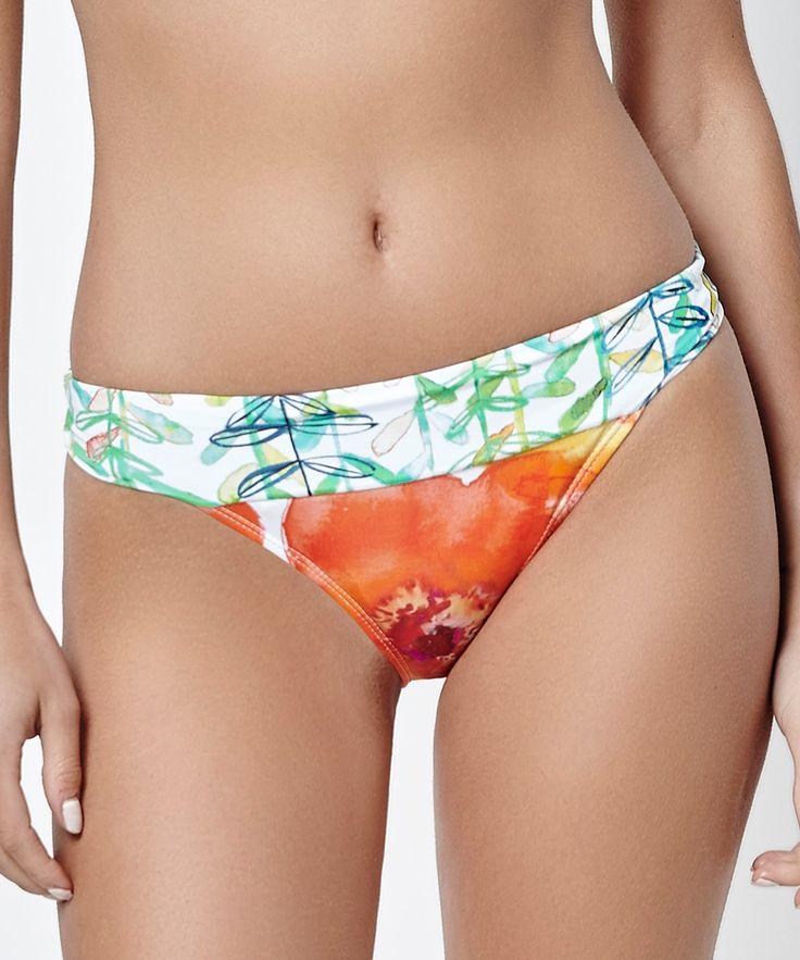 Green & Orange Bikini Bottoms