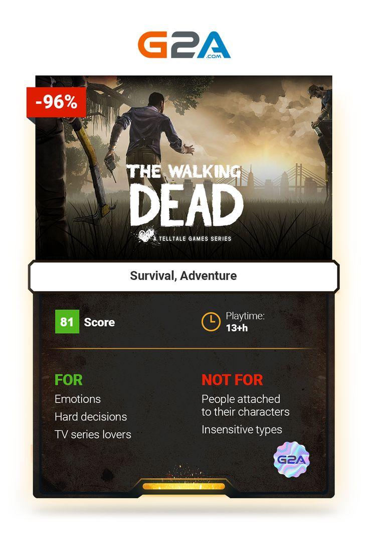 The Walking Dead #zombie #survival #adventure #gaming