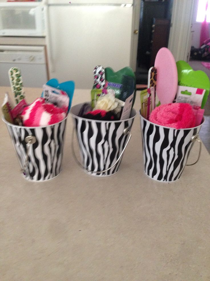 Baby Shower Game Prizes. Just Put Girly Things Into A Basket.