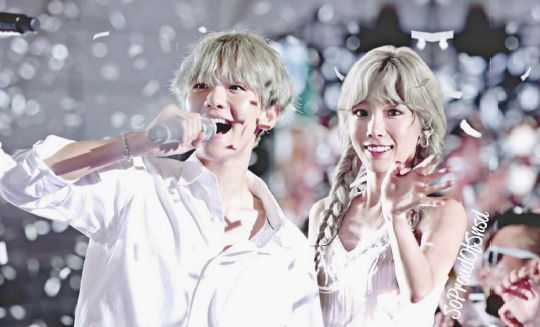 Baekyeon. Aw, I'm annoyed that most fans hate Baekhyun for it, whereas I thought they were goallss❤