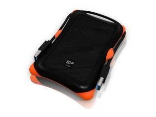 Kieszeń na dysk SSD/HDD Silicon Power Armor A30 Black USB 3.0 Wstrząsoodporna