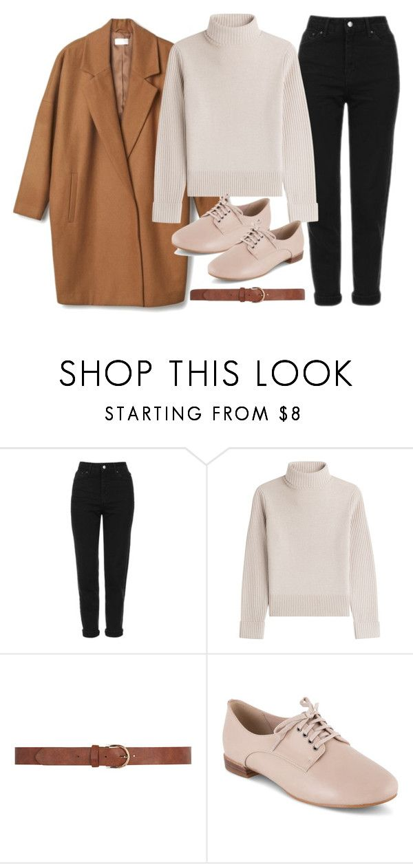 """""""Untitled #3711"""" by plainly-marie ❤ liked on Polyvore featuring Topshop, Vanessa Seward, Dorothy Perkins, Clarks, noora and skam"""