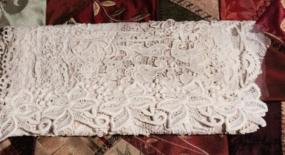 Shabby Chic Clutch, purse, Brides clutch, wedding clutch, Jewelry Keeper, Mixed…