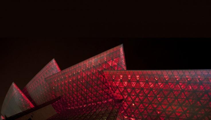 PES Architects / Grand Théâtre de Wuxi - Jiangsu, Chine.