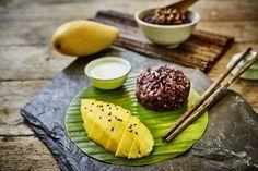 Thailändischer schwarzer Klebreis mit Mango und süßer Kokossoße | Paradiesfutter | Bloglovin'