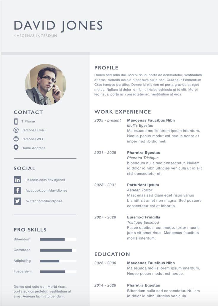 การเขียน Resume / CV ภาษาอังกฤษ | FP Executive Search