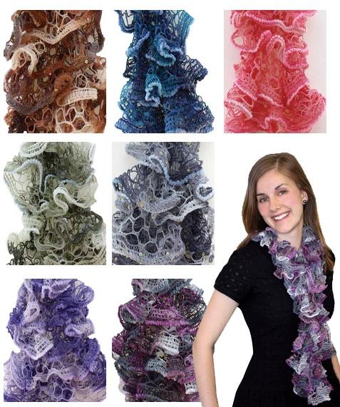 34 Best Ruffle Yarn Ideas Images On Pinterest Knit