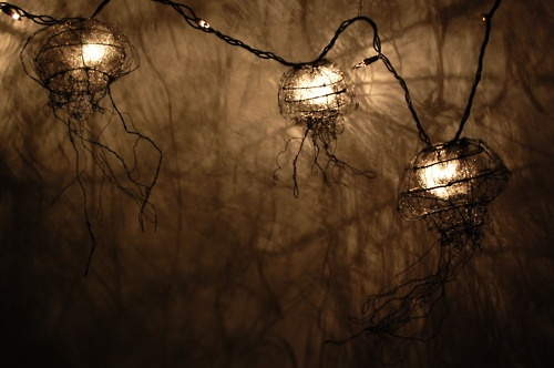 Jellyfish String Lights : 90 best images about jellyfish lights on Pinterest Hanging lights, Glow and Cloud lights