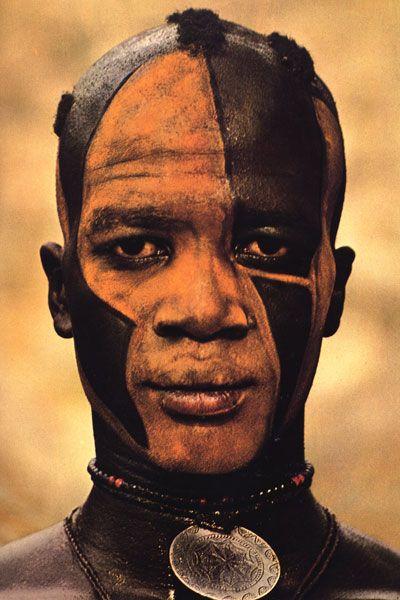 Africa | Masakin Quisar Nuba, the Nuba of Kau. ca. 1962 - 1977. | © Leni Riefenstahl.