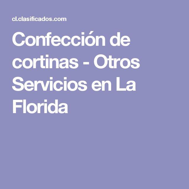 Confección de cortinas  - Otros Servicios en La Florida
