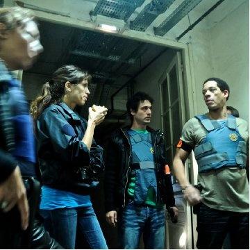 Jérémie Elkaïm, Maïwenn and Joey Starr. Incroyable casting pour un incroyable film.