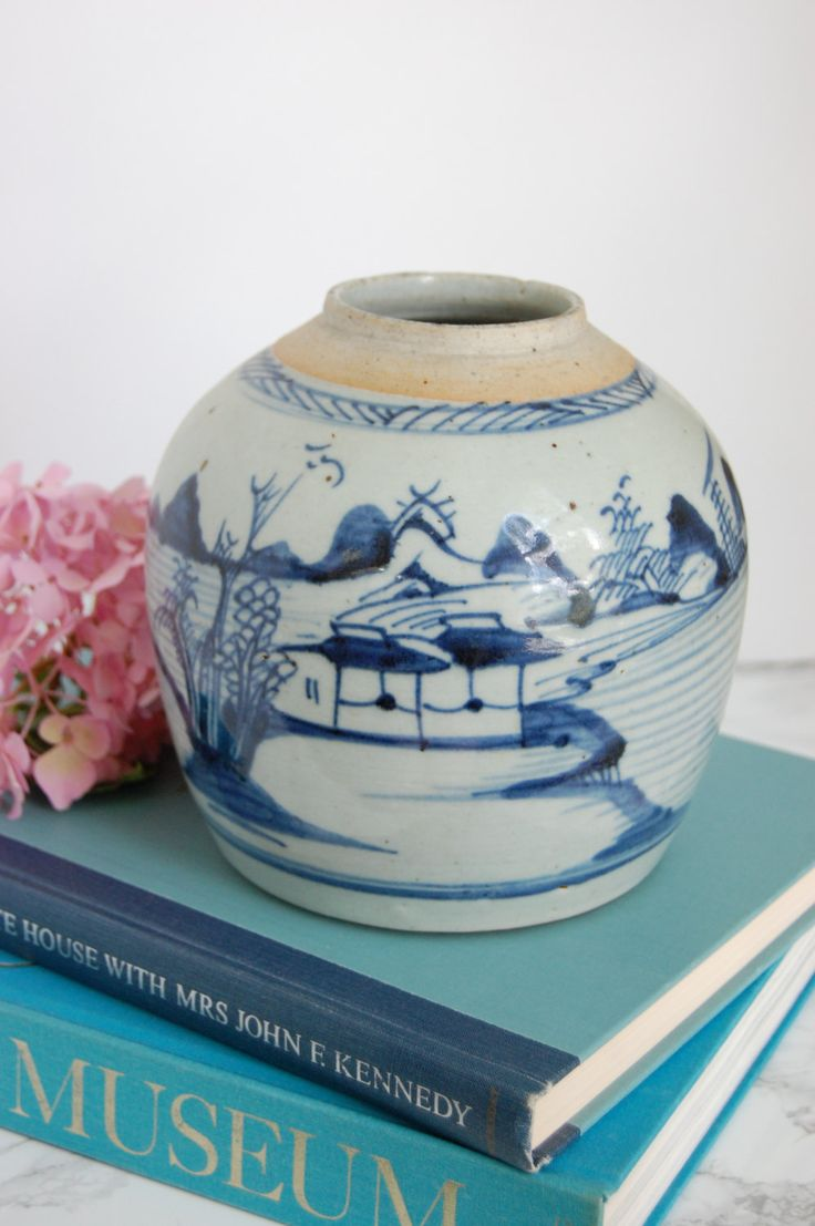 241 best blue white porcelain images on pinterest blue and blue and white ginger jar asian ginger jar blue white chinese vase antique reviewsmspy