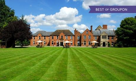 4* Gloucester Manor House Stay with Meals Gloucester: 1 or 2 Nights for Two with Breakfast, Main-Course Dinner and Cocktail at 4* Hatherley Manor Hotel  >> BUY & SAVE Now!