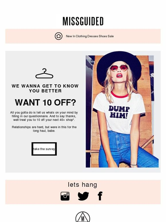 35 best Survey Emails images on Pinterest Email design, Email - email survey template