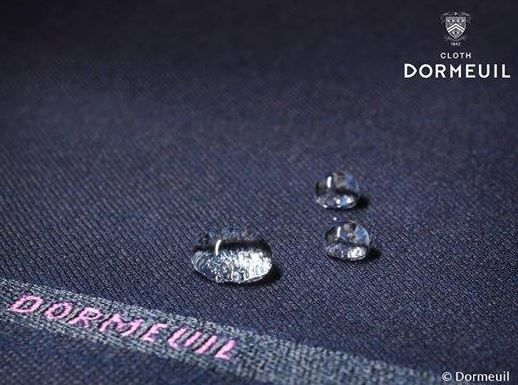 Nanotechnology is used to make luxury fabric water repellent and breathable