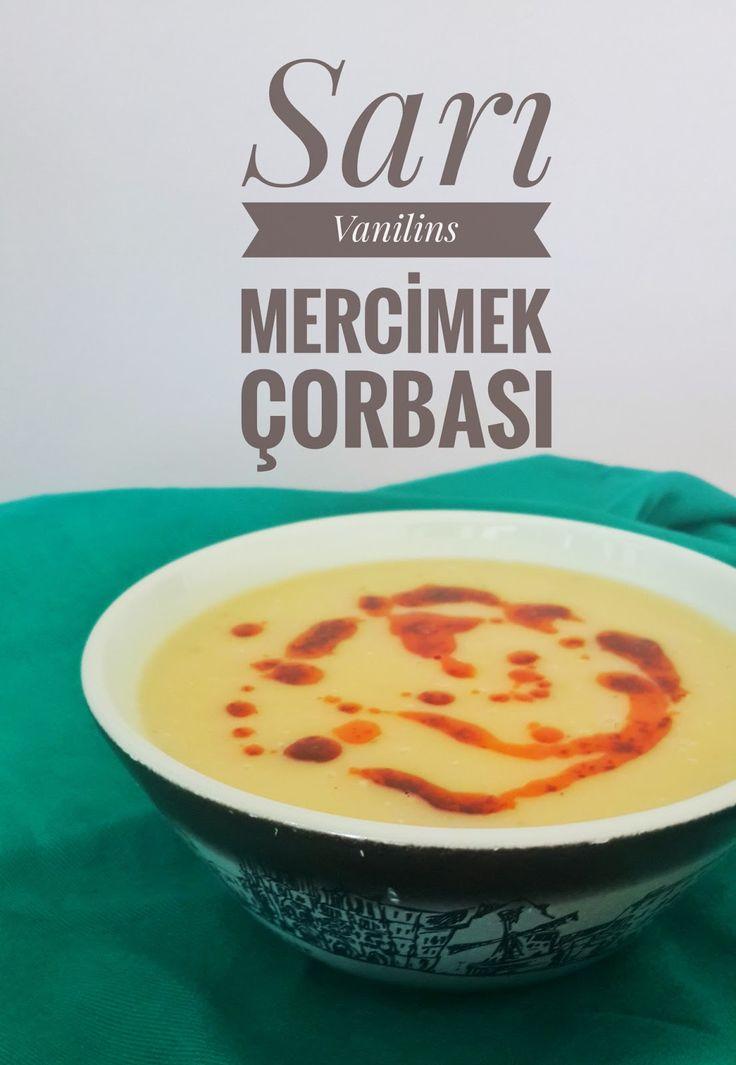 Mercimek Çorbası Sarı Mercimek Çorbası Süzme Mercimek Çorbası Bu akşam,lokantalarda çok severek içtiğimiz mercimek çorbasının tarifi ...