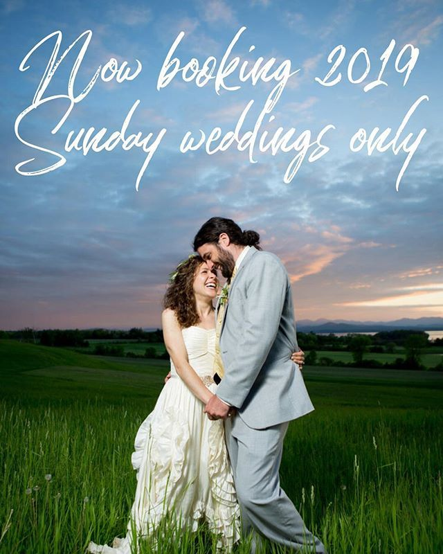 Ok Peeps My Saturdays Are Booked And Normally That Would Mean I Am Not Taking Any Other Weddings For The Season But Ive Decided To Open My Books For Sunday We