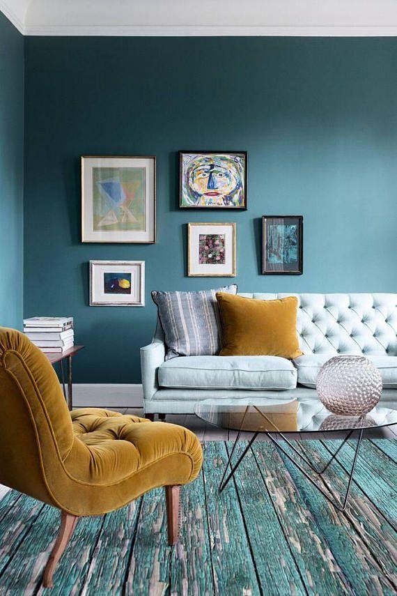 Vinyl-Fußmatte, abstrakter Teppich, Bodenbelag, Matte für ...