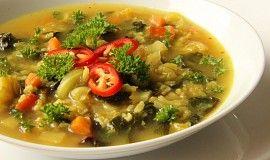Zeleninová curry polévka s bulgurem ( pro zahřátí)