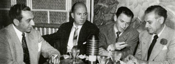 Undated: Frank Sinatra, appearing at Houston's Shamrock Hotel during Galveston's gambling heyday, dropped
