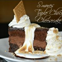 Copycat Cheesecake Factor Toasted Smores Chocolate Cheesecake