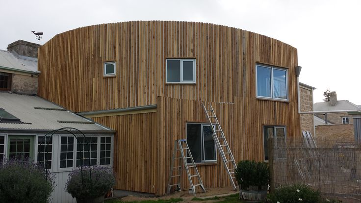Cladding almost done