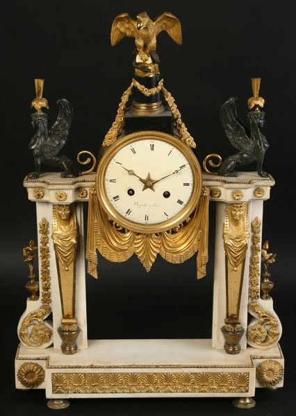 Large antique mantel clocks