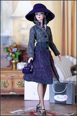 Anicetta OOAK fashion for Silkstone Barbie, Fashion Royalty.