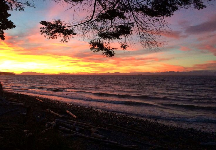 Sunset in Comox Valley - Lova Graphic Design