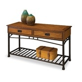 """I think it's the """"Craftsman"""" that got me! Found it at Wayfair - Modern Craftsman Console Table"""
