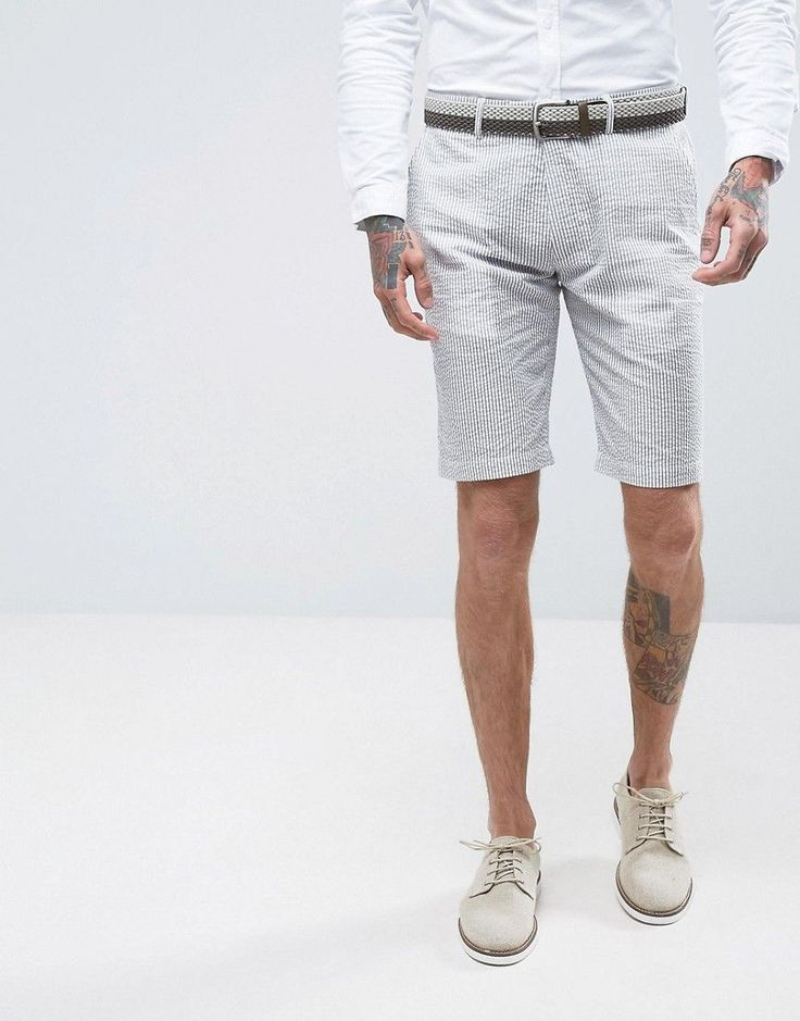 Get this Gianni Feraud's suit now! Click for more details. Worldwide shipping. Gianni Feraud Pastel Stripe Seersucker Shorts - Green: Shorts by Gianni Feraud, Cotton-rich seersucker, Striped design, Side pockets with two back pockets, Regular fit - true to size, Hand wash, 65% Cotton, 35% Polyester, Our model wears a W 32 and is 191cm/6'3 tall. (traje, suit, suits, trajes, anzug, traje, costume, vestito da uomo)